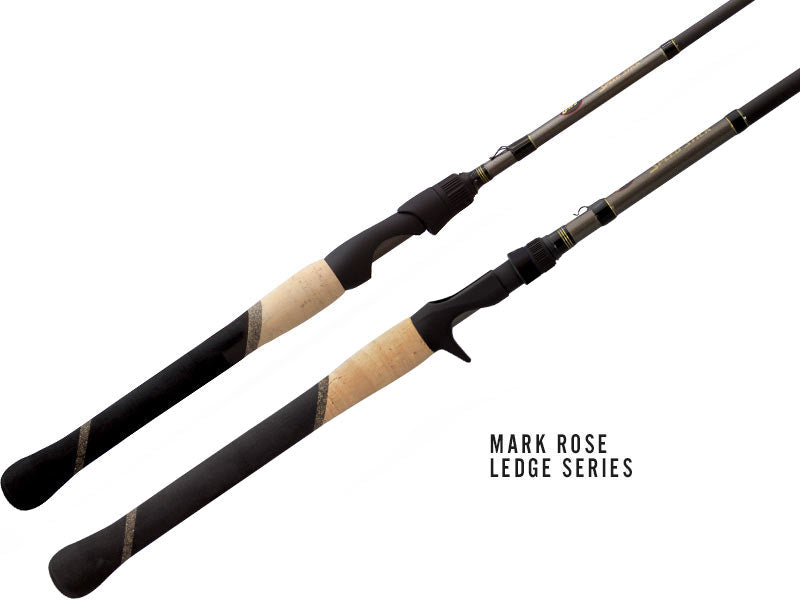 Lews Custom Pro Speed Mark Rose Ledge Series Casting Rods - Direct Fishing Sales