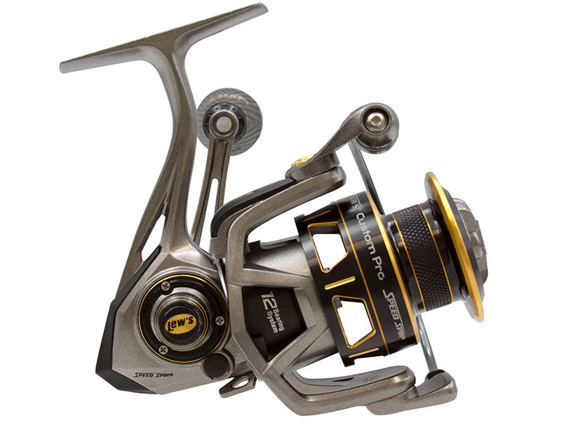 Lews Custom Pro Speed Spin Series Reel - Direct Fishing Sales