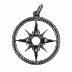 Pendente WIND ROSE in Argento