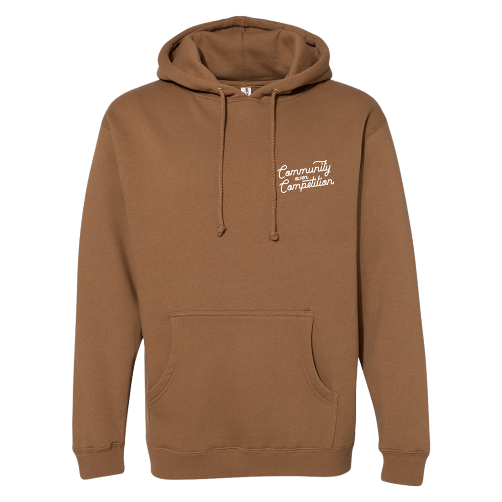 Where the Ocean Meets the Pines Lightweight Hoodie