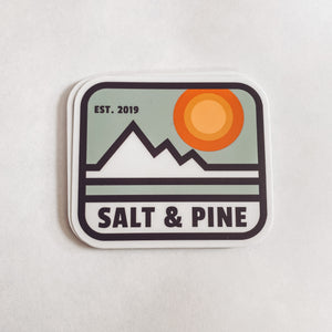 Vintage Sunset sticker