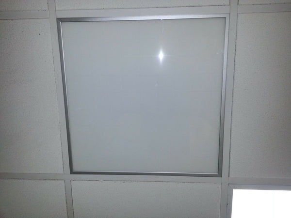 NEW 38w 2400 LM White LED Ceiling Square Panel Down Light + LED Power Supply