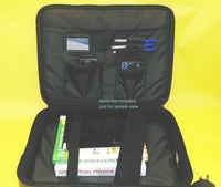 "Lot of 5: NEW 14"" 15"" 17"" Black PC Tablet/Laptop/Notebook Briefcase Carrying Bag"