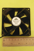Lot 6: NEW Quiet 90mm 9cm 4pin Computer Case Cooling Fan 12VDC PC System Cooler