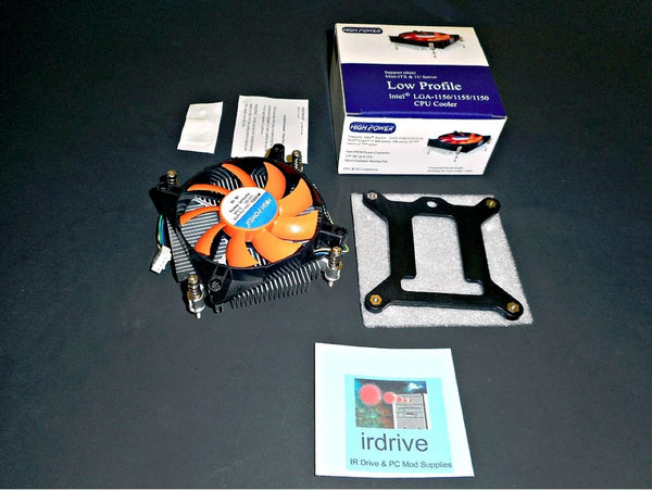 NEW Low-Profile 1U 80mm Intel LGA 1150 1151 1155 1156 CPU Cooling Fan PWM 3/4pin