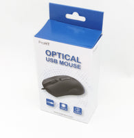 Lot 100: NEW Retail 3-Button Scroll 800-DPI Optical USB PC Mouse,Windows 7/8/10