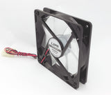 Lot 6: NEW 120mm Mod LED PC Gaming Case Fan fo Water Cooling Radiator CPU Cooler