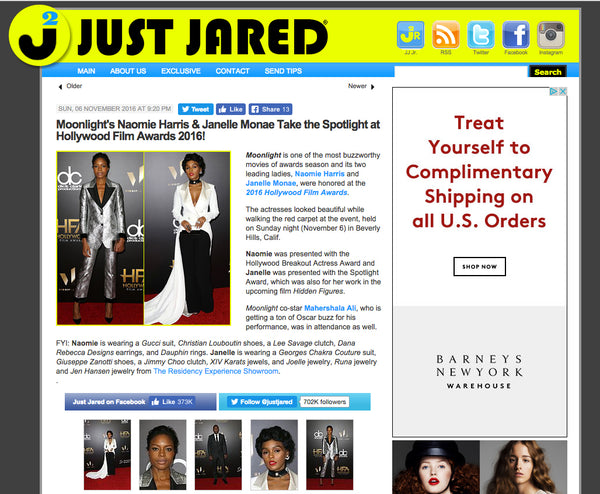 JEN HANSEN IN JUST JARED
