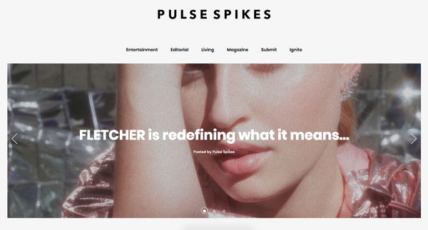 JEN HANSEN IN PULSE SPIKES
