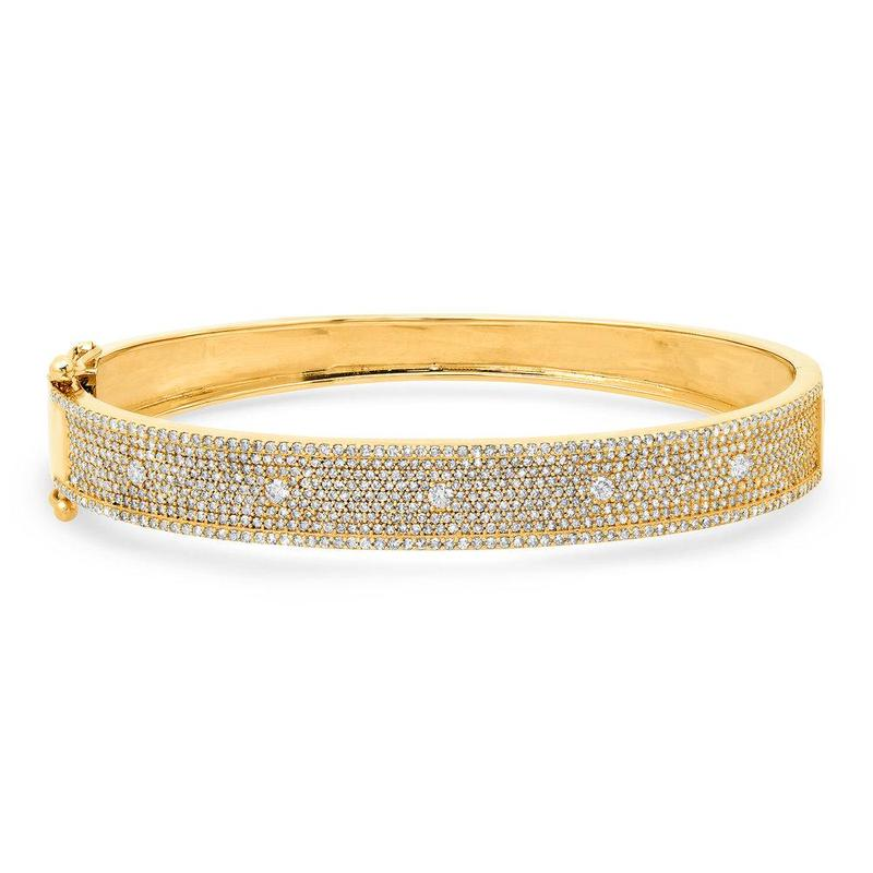 STRIVE DIAMOND BRACELET, GOLD