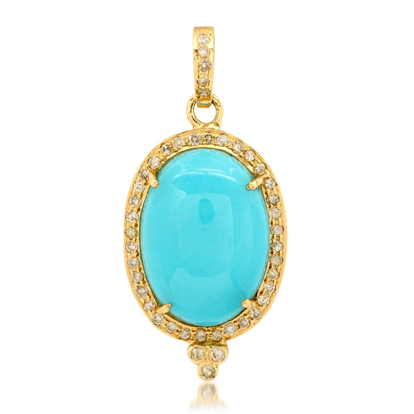 MAGNIFICENT CHARM, TURQUOISE & GOLD