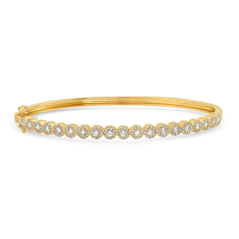 FULL RENEWAL DIAMOND BRACELET, GOLD