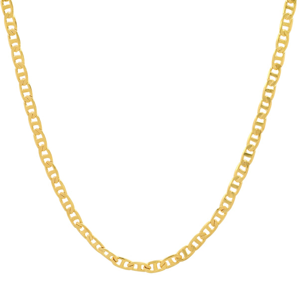 TINY HORSEBIT LINK CHAIN GOLD