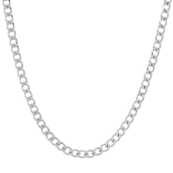 Small Cuban Link Chain, Silver