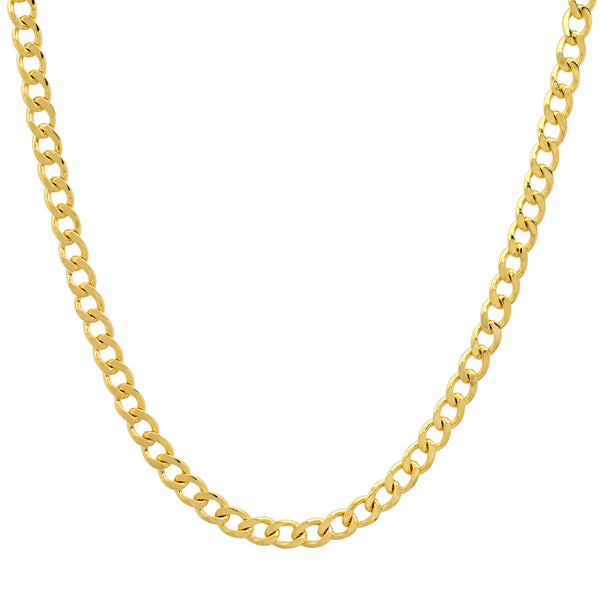 SMALL CUBAN LINK CHAIN GOLD