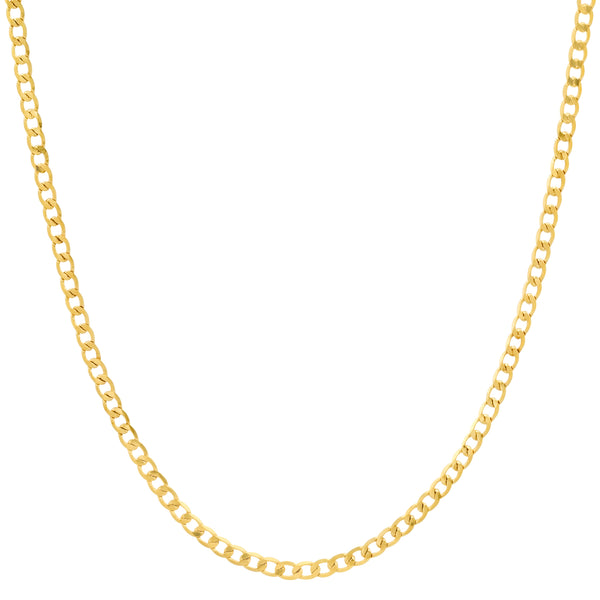 TINY CUBAN LINK CHAIN GOLD