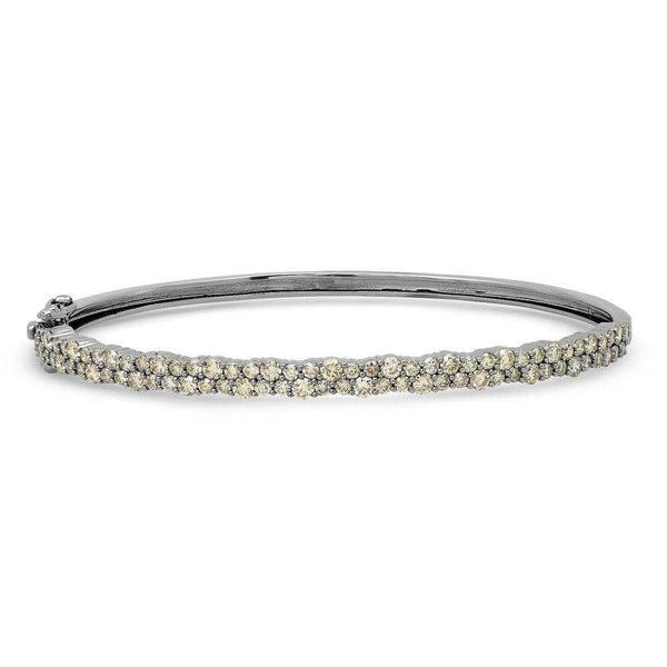 FANTASY DIAMOND BRACELET, BR STERLING SILVER