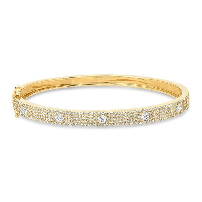 AVOW DIAMOND BRACELET, GOLD