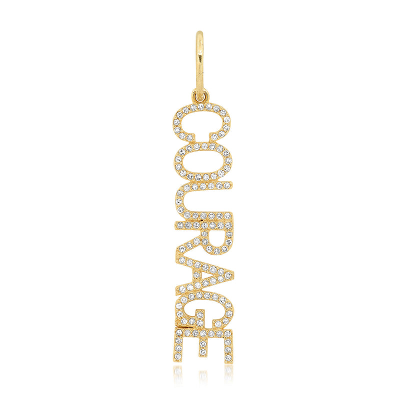 COURAGE CHARM, GOLD
