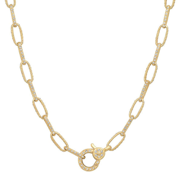 Diamond Encrusted Chain, Gold.jpg