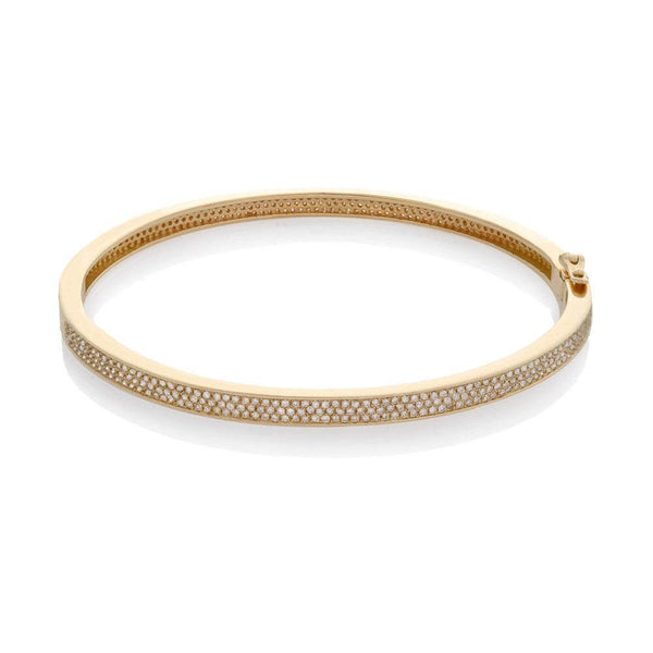 HINGE DIAMOND BRACELET, GOLD