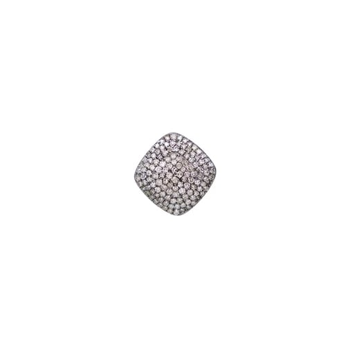 SINGLE LIMITLESS DIAMOND STUD, BR STERLING SILVER