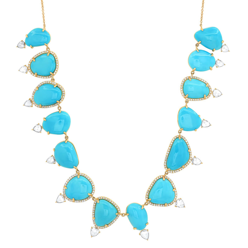 LUMINARY NECKLACE, TURQUOISE