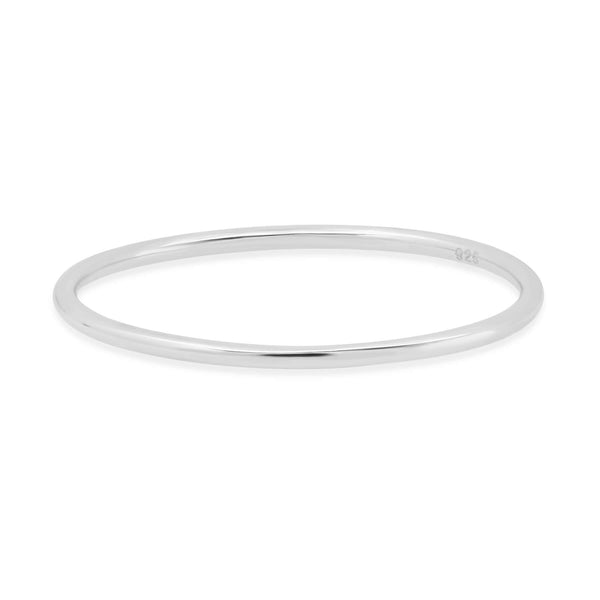 ONE LINE RING, SILVER