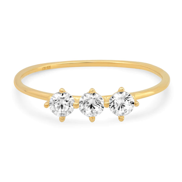 ROUND BAND RING, GOLD