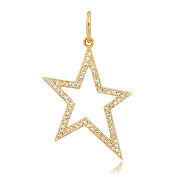 SHOOTING STAR CHARM, GOLD