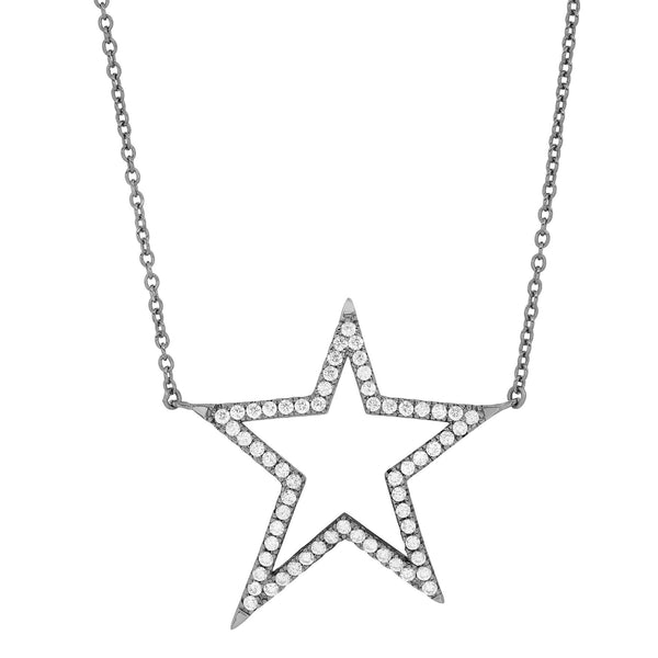 SHOOTING STAR NECKLACE, BRSS