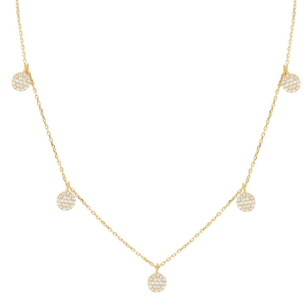 TINY DISC DANGLE NECKLACE, GOLD.jpg