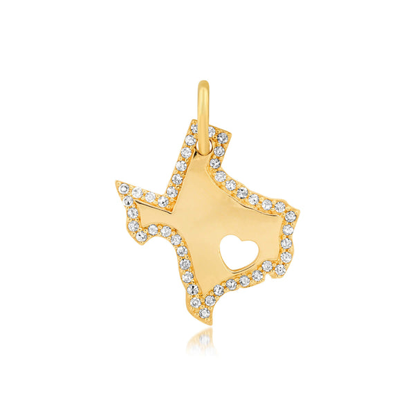 TEXAS LOVE CHARM, GOLD