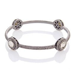 Tiny Rose Cut Diamond Bracelet.jpg