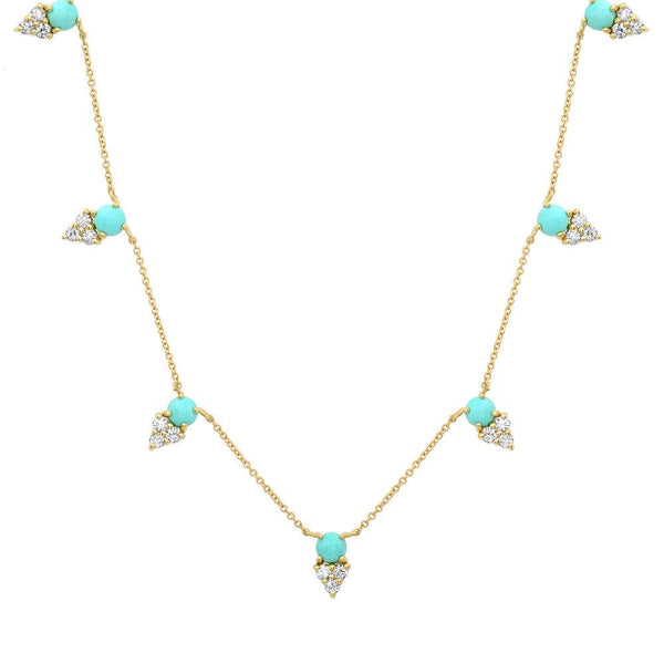 Tribute Necklace, Gold, Turquoise.jpg