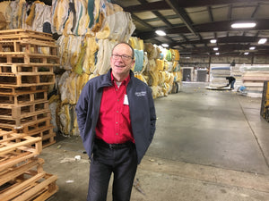 Recycling mattresses is a big business these days - super informative to see what our friends at NW Furniture bank are accomplishing