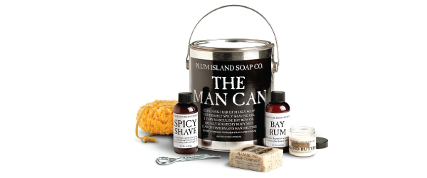 The Man Can: 100% Natural Skin Care Set for Men