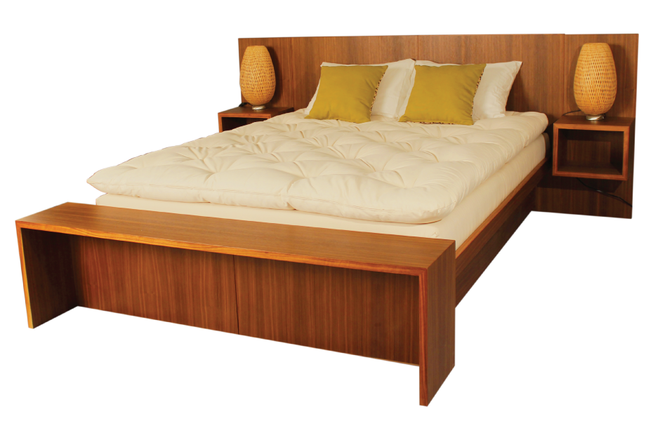 The Tribeca Bed Frame by Soaring Heart Natural Bed Company