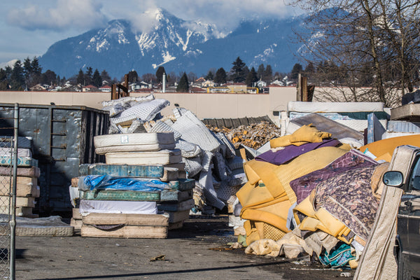 The Crazy Truth About Recycling Mattresses