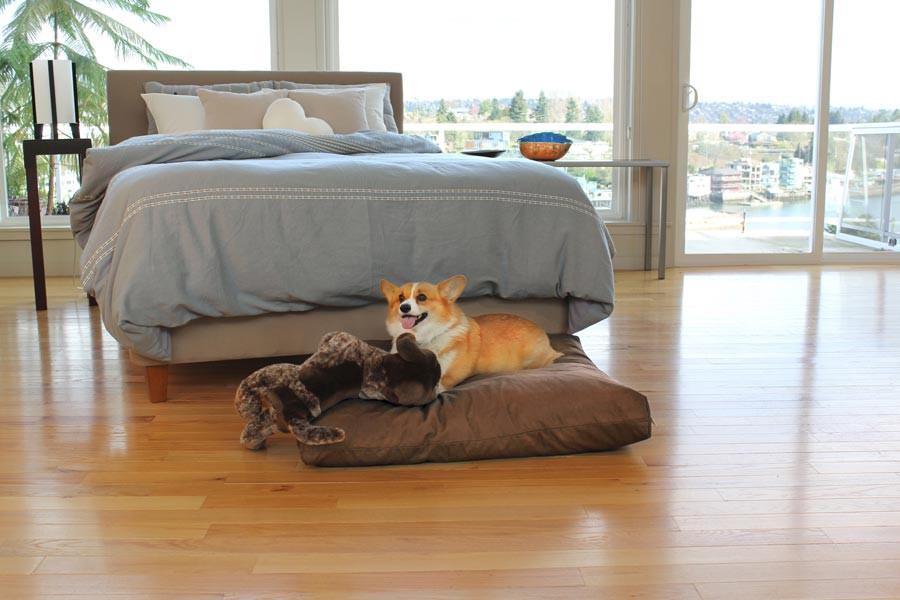 Summer Cotton Blend Small Dog Bed Cover
