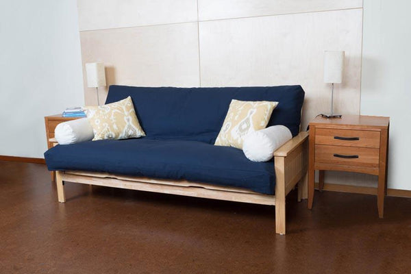 Futon Cover - Organic Cotton Futon Covers - Soaring Heart Fabric