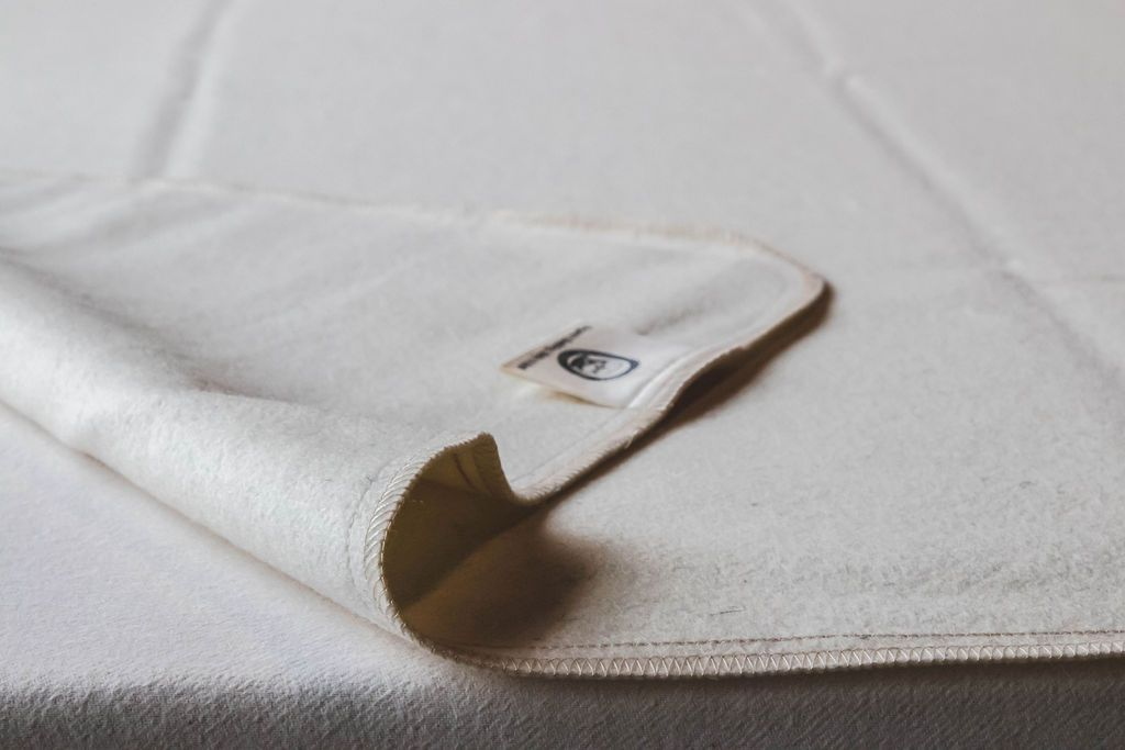 Mattress Pads - Organic Cotton - Holy Lamb Wool Moisture Barrier