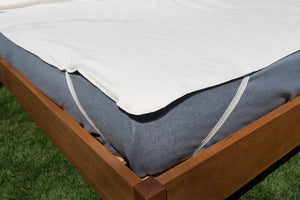 Mattress Pads - Organic Cotton - Organic Cotton Mattress Protector