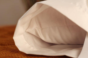 Pillows - Soaring Heart Organic Sateen Pillow Cases