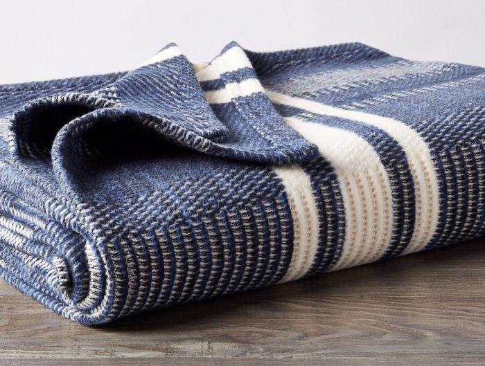 Soft Goods - Cirrus Stripe Throw