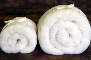 Toppers - Holy Lamb Fleece Wool Topper