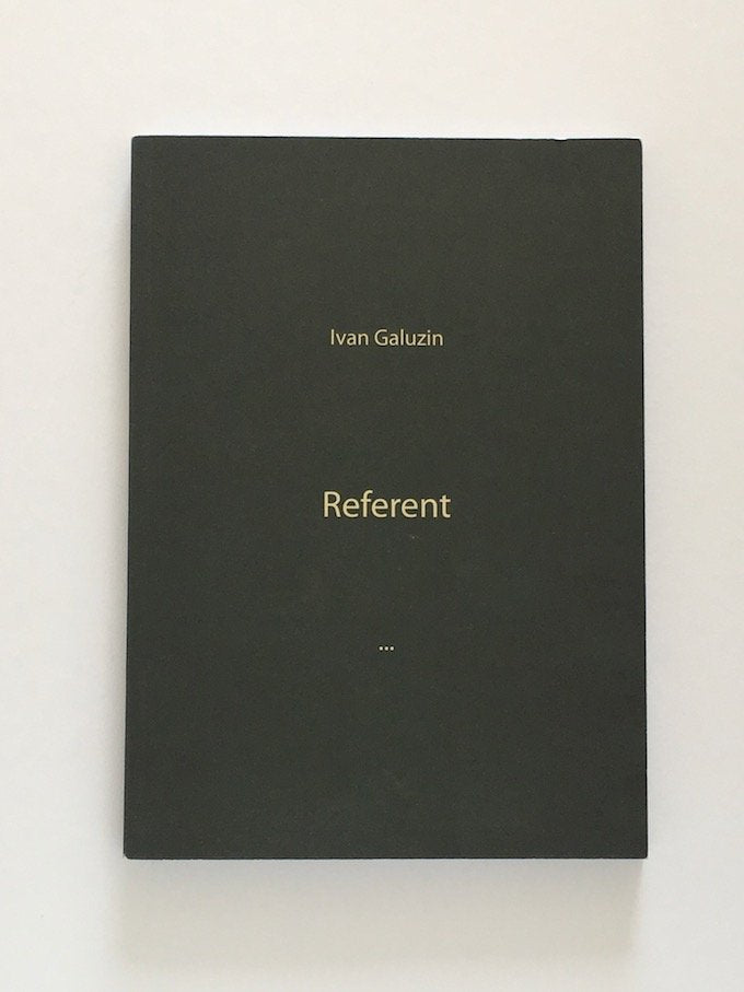 Ivan Galuzin - Referent, 2012- Rare book
