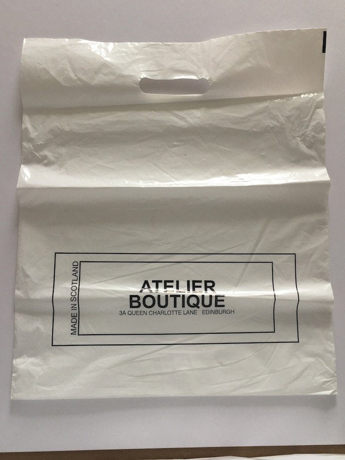 Atelier Boutique Plastic Bag