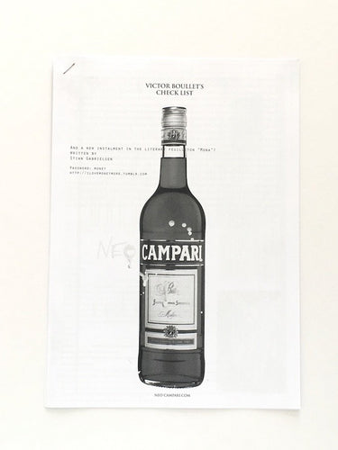 Neo Campari by Victor Boullet - Checklist