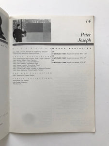 Book: 25 Camden Artists. From exhibition at Central Library Camden in 1968.